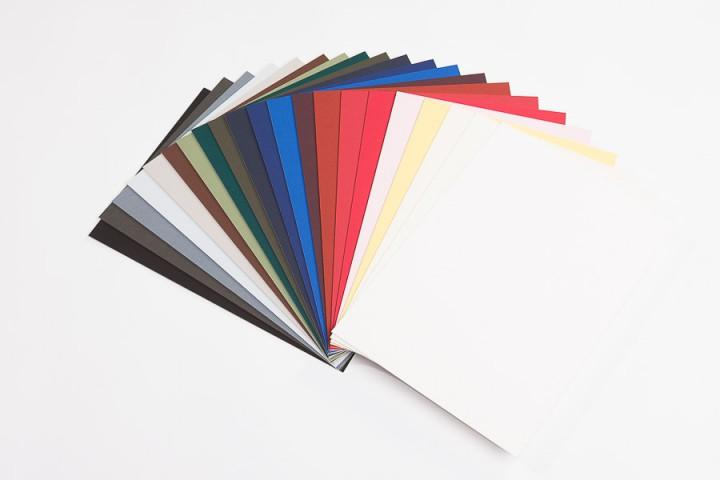 Passepartouts farbig in 1,4 mm Nielsen Alphamat Artcare