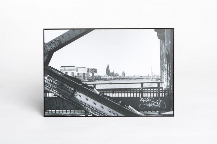 Aluminium Schattenfugenrahmen 30 x 45 cm
