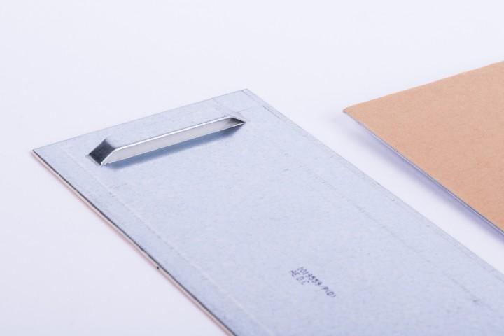 Haftblech mit Oese 100 x 200 mm