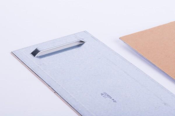 Haftblech mit Oese 100 x 200 mm / 1 VE = 100 Stück