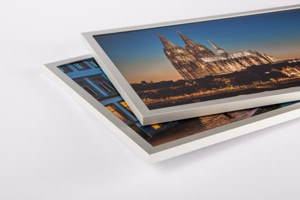HK10 Aluminium-U-Display-Profil silbermatt