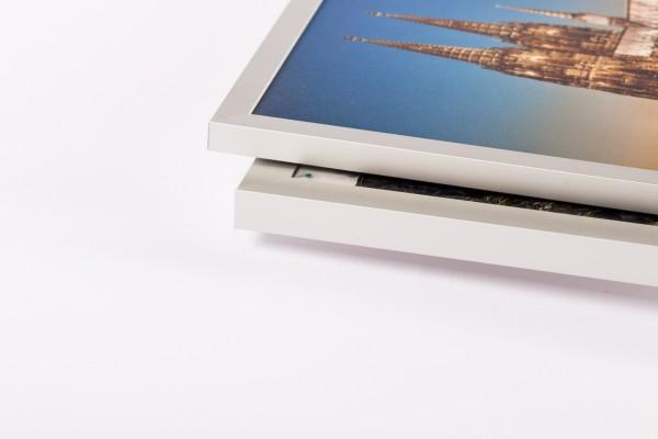 HK5 Aluminium-U-Display-Profil silbermatt