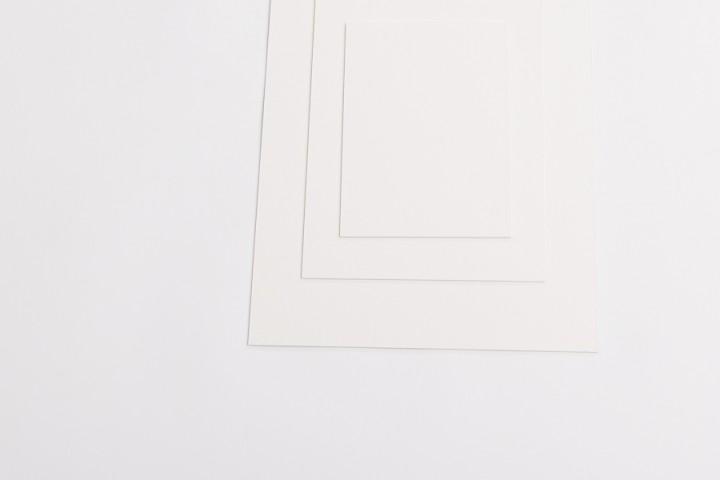 Mal- und Bastelkarton weiß/creme in 1,5 mm