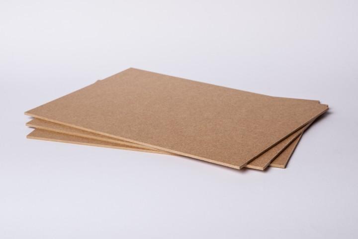 Hartfaser- / MDF-Platte braun in 3,0 mm