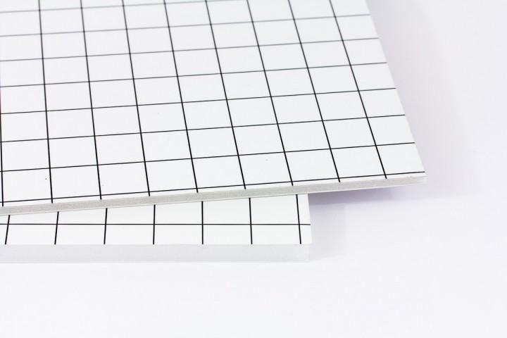 Foamboard Airplac aluminiumverstärkt einseitig selbstklebend