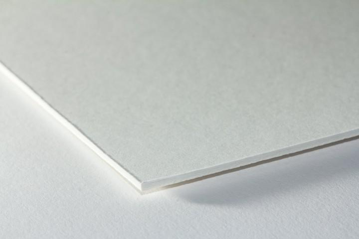 Passepartouts naturweiß/weiß in 1,5 mm